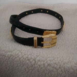 Accessories - Lion heads leather belt